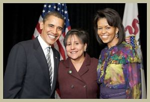 used-cabinet-pritzker-and-obamas